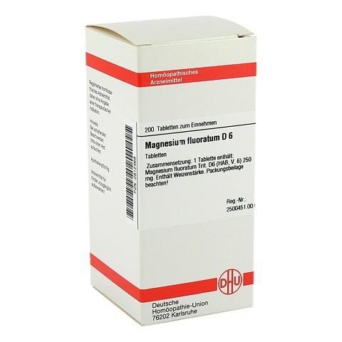 MAGNESIUM FLUORATUM D 6 Tabletten 200 Stück N2