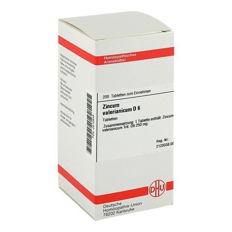 ZINCUM VALERIANICUM D 6 Tabletten 200 Stück N2