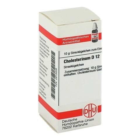 CHOLESTERINUM D 12 Globuli 10 Gramm N1