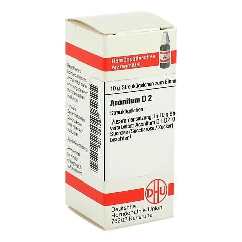 ACONITUM D 2 Globuli 10 Gramm N1