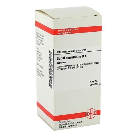 SABAL SERRULATUM D 4 Tabletten 200 Stück N2