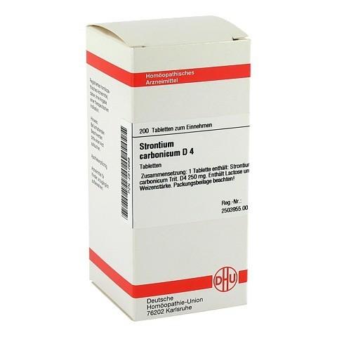 STRONTIUM CARBONICUM D 4 Tabletten 200 Stück N2