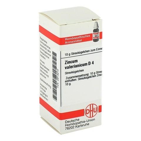 ZINCUM VALERIANICUM D 4 Globuli 10 Gramm N1