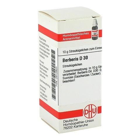 BERBERIS D 30 Globuli 10 Gramm N1