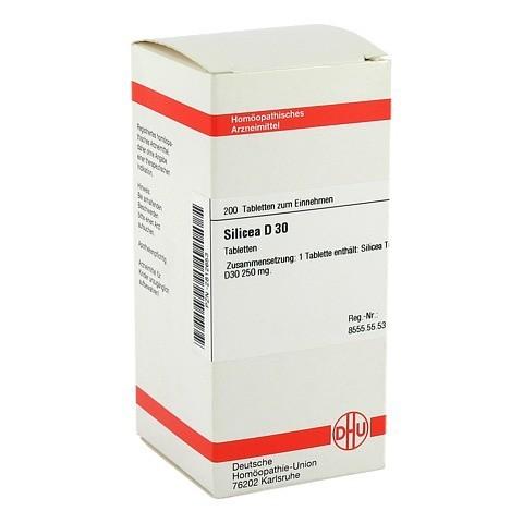 SILICEA D 30 Tabletten 200 Stück