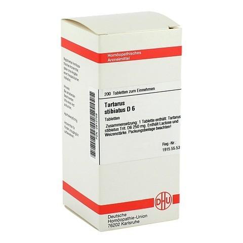 TARTARUS STIBIATUS D 6 Tabletten 200 Stück N2