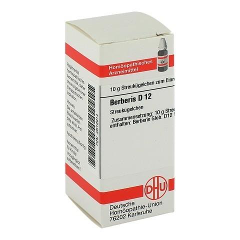 BERBERIS D 12 Globuli 10 Gramm N1