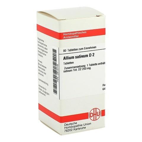 ALLIUM SATIVUM D 2 Tabletten 80 Stück N1