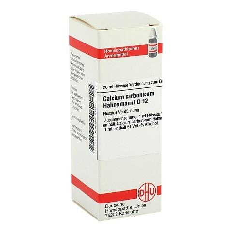 CALCIUM CARBONICUM Hahnemanni D 12 Dilution 20 Milliliter N1