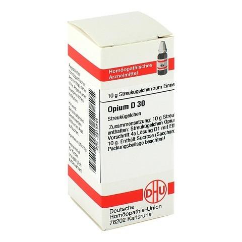 OPIUM D 30 Globuli 10 Gramm N1