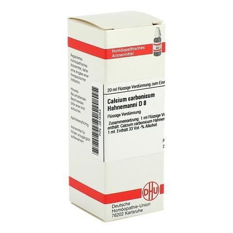 CALCIUM CARBONICUM Hahnemanni D 8 Dilution 20 Milliliter N1