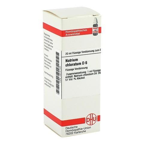 NATRIUM CHLORATUM D 6 Dilution 20 Milliliter N1