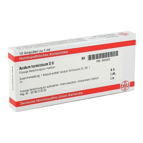 ACIDUM FORMICICUM D 6 Ampullen 10x1 Milliliter N1