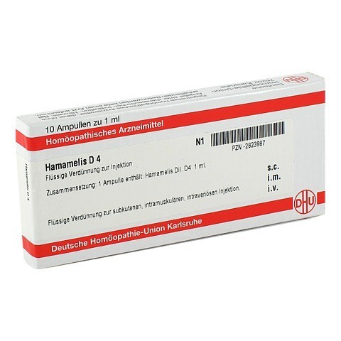 HAMAMELIS D 4 Ampullen 10x1 Milliliter N1