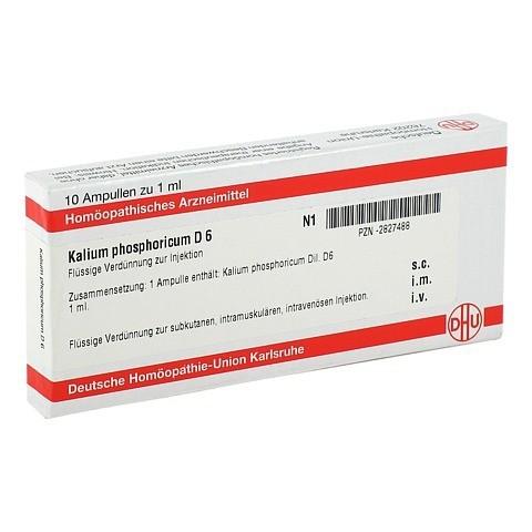 KALIUM PHOSPHORICUM D 6 Ampullen 10x1 Milliliter N1