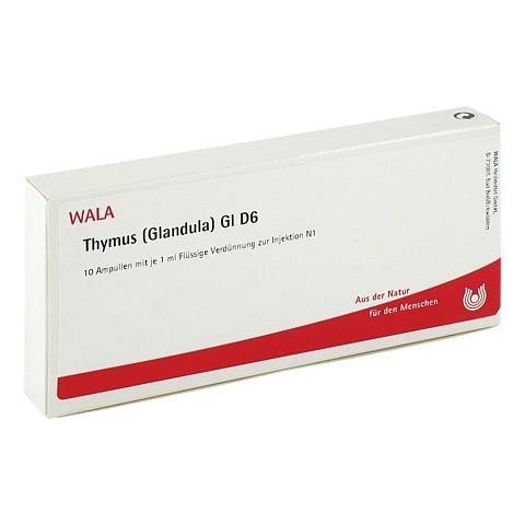 THYMUS GLANDULA GL D 6 Ampullen 10x1 Milliliter N1