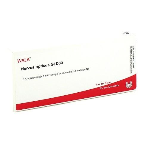 NERVUS OPTICUS GL D 30 Ampullen 10x1 Milliliter N1