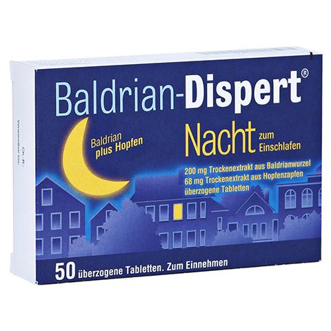 Baldrian-Dispert Nacht zum Einschlafen 50 Stück