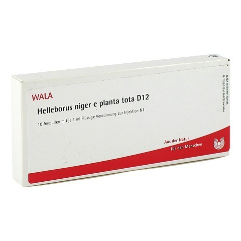 HELLEBORUS NIGER e planta tota D 12 Ampullen 10x1 Milliliter N1
