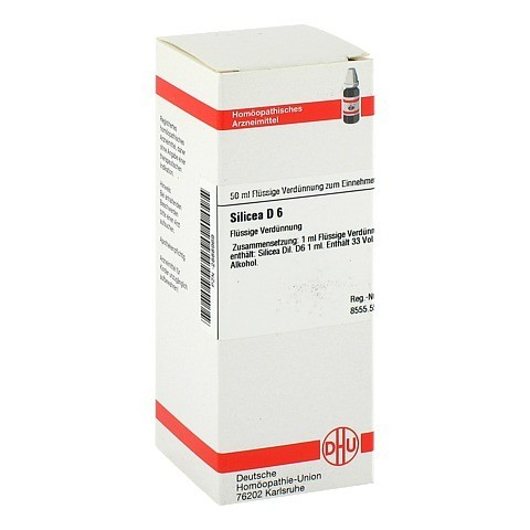SILICEA D 6 Dilution 50 Milliliter N1