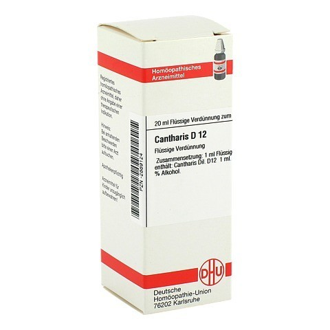 CANTHARIS D 12 Dilution 20 Milliliter N1