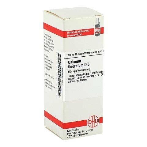 CALCIUM FLUORATUM D 6 Dilution 20 Milliliter N1