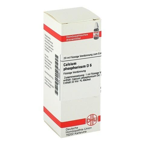 CALCIUM PHOSPHORICUM D 6 Dilution 20 Milliliter N1