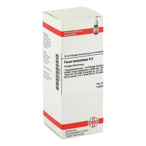 FUCUS VESICULOSUS D 2 Dilution 50 Milliliter N1
