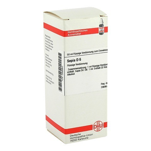 SEPIA D 6 Dilution 50 Milliliter N1