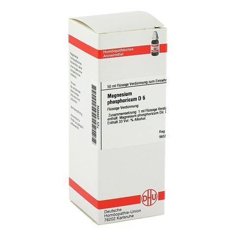 MAGNESIUM PHOSPHORICUM D 6 Dilution 50 Milliliter N1