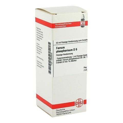 FERRUM PHOSPHORICUM D 6 Dilution 50 Milliliter N1