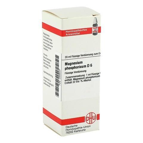 MAGNESIUM PHOSPHORICUM D 6 Dilution 20 Milliliter N1