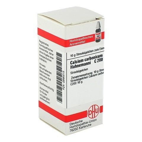 CALCIUM CARBONICUM Hahnemanni C 200 Globuli 10 Gramm N1
