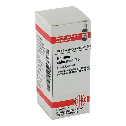 NATRIUM CHLORATUM D 6 Globuli 10 Gramm N1