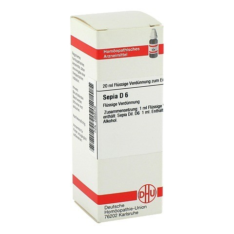 SEPIA D 6 Dilution 20 Milliliter N1