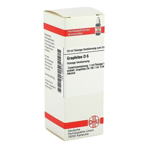 GRAPHITES D 6 Dilution 20 Milliliter N1