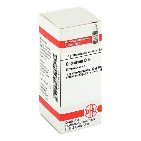 CAPSICUM D 6 Globuli 10 Gramm N1