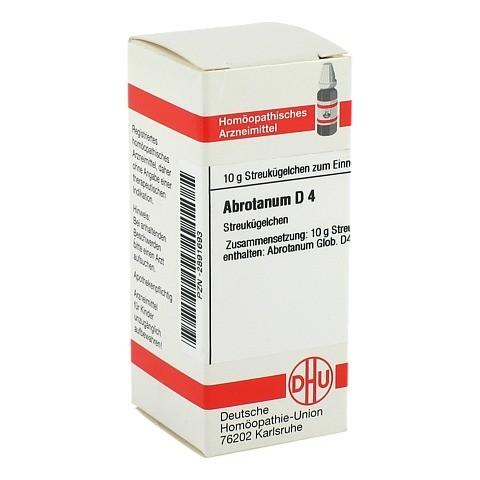 ABROTANUM D 4 Globuli 10 Gramm N1