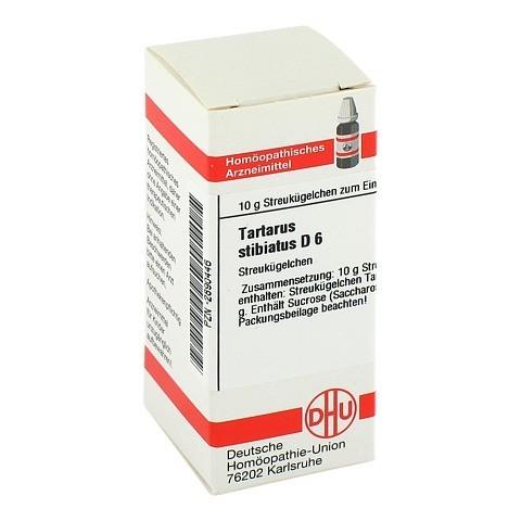 TARTARUS STIBIATUS D 6 Globuli 10 Gramm N1