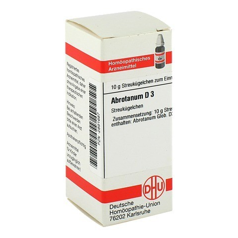 ABROTANUM D 3 Globuli 10 Gramm N1