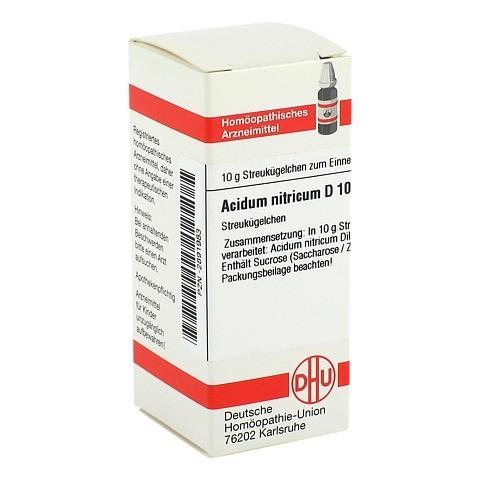 ACIDUM NITRICUM D 10 Globuli 10 Gramm N1