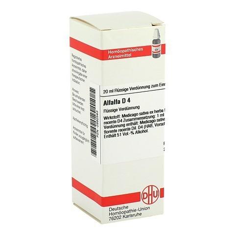 ALFALFA D 4 Dilution 20 Milliliter N1