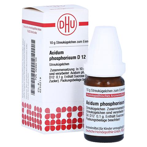 ACIDUM PHOSPHORICUM D 12 Globuli 10 Gramm N1