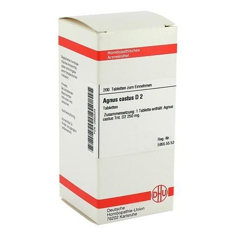 AGNUS CASTUS D 2 Tabletten 200 Stück N2