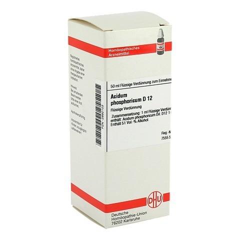 ACIDUM PHOSPHORICUM D 12 Dilution 50 Milliliter N1