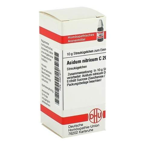 ACIDUM NITRICUM C 200 Globuli 10 Gramm N1