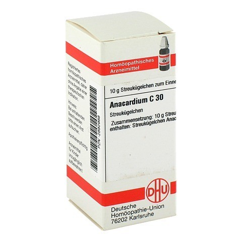 ANACARDIUM C 30 Globuli 10 Gramm N1