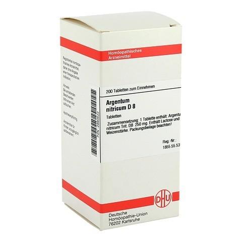 ARGENTUM NITRICUM D 8 Tabletten 200 Stück N2