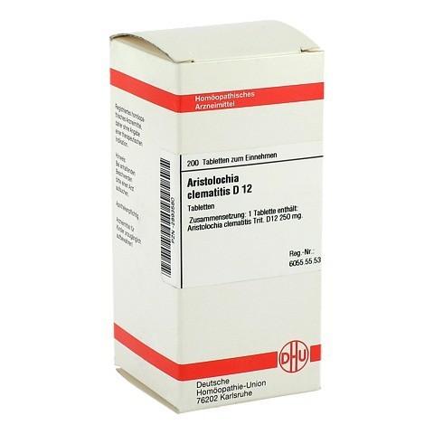 ARISTOLOCHIA CLEMATITIS D 12 Tabletten 200 Stück N2