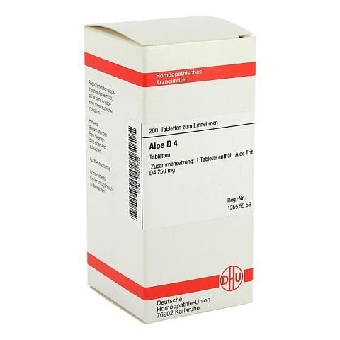ALOE D 4 Tabletten 200 Stück N2